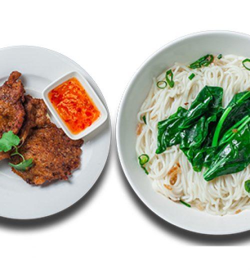 Pork Rib Noodle Soup