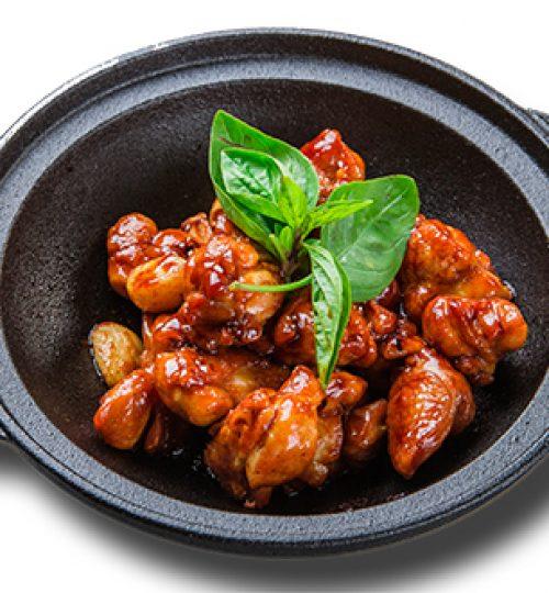 Stewed Chicken with Basil